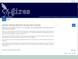 Gender Identity Research & Education Society - Shop